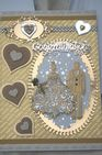 Large Wedding Day Card A4 Hand Made Boxed Keepsake Wedding Card GOLDEN COUPLE